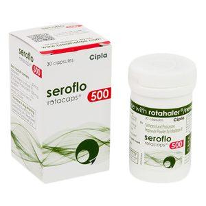 Seroflo-Rotacap50+500mcg
