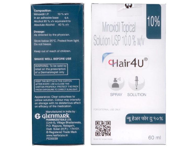 ヘアフォーユー(HAIR4U)10% 60ml