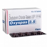 オキシスパス(Oxybutynin)2.5/5mg