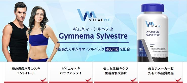 ギムネマシルベスタ400mg・バイタルミー(VitalMe)